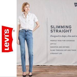 Levi's Slimming Straight Leg Jeans Size 33